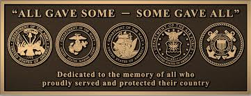 All gave some - some gave all VETERANS