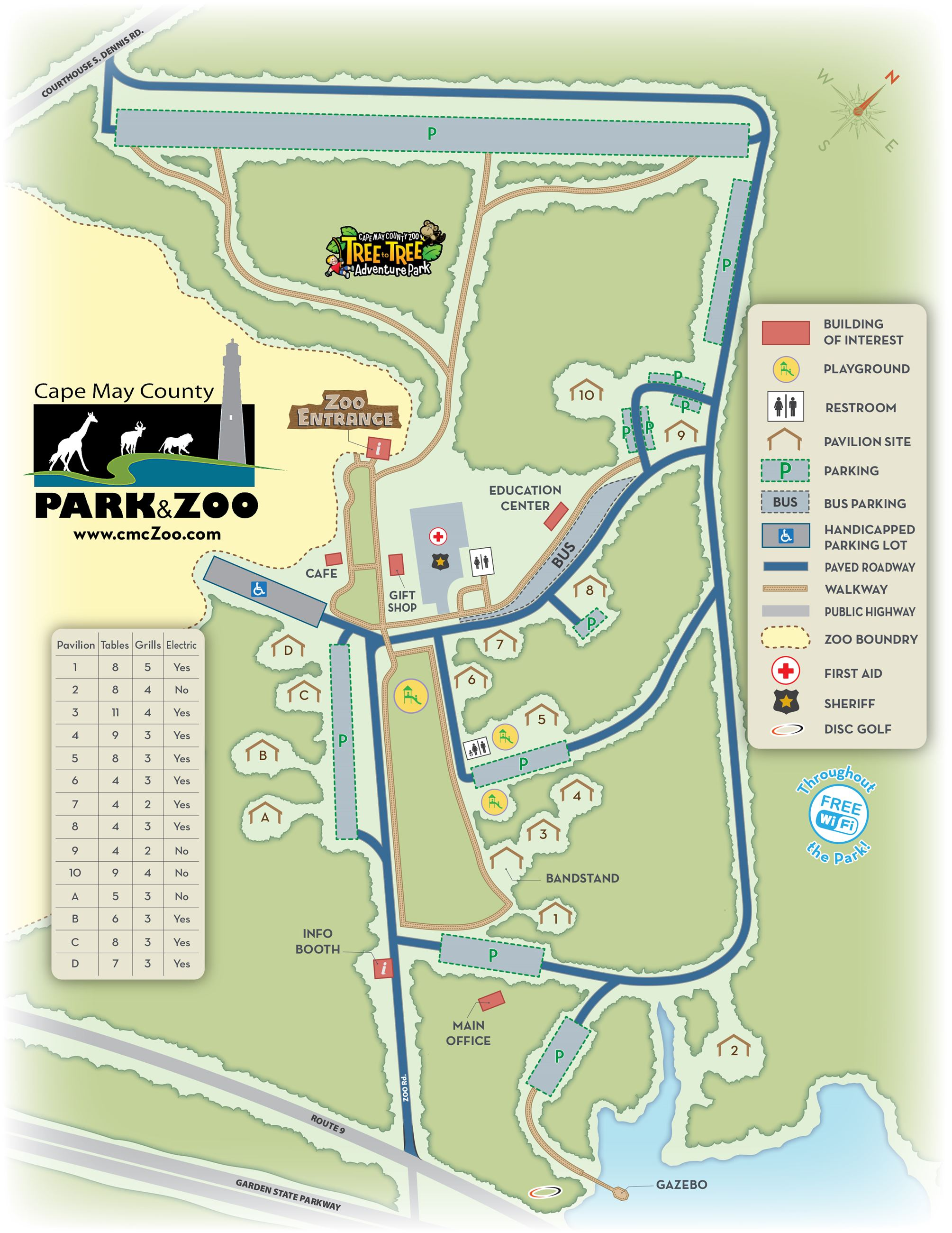 ZOO CountyPark MAP