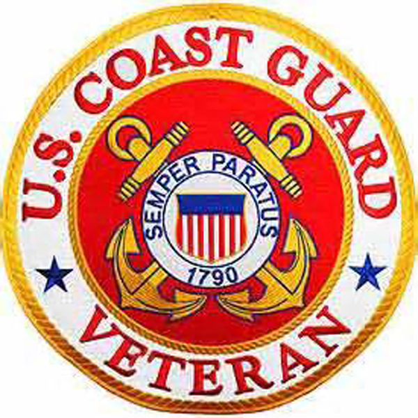 U.S. Coast Guard Veteran Seal