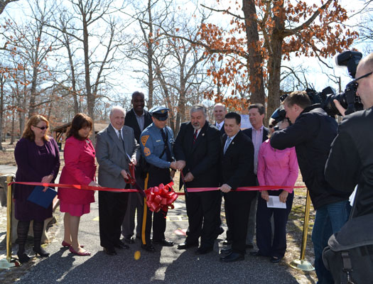Woodbine's Born Learning Trail Ribbon Cutting