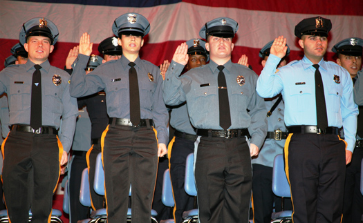 Recruits Take Oath of Office